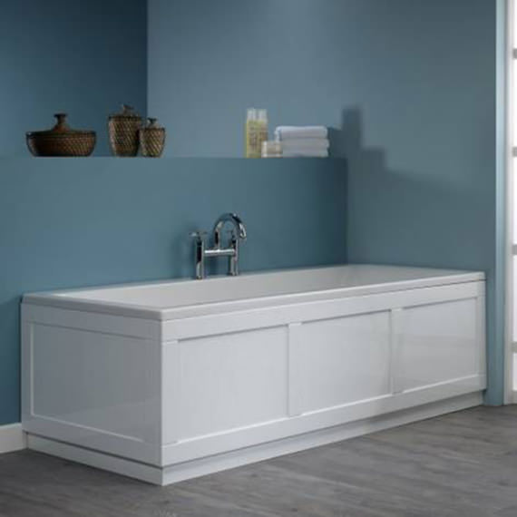 Roper Rhodes Hampton 1700mm Bath Panel - Vanilla