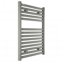 Tissino Hugo2 Heated Towel Rail & Valves - Grey