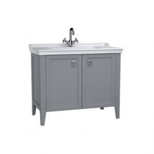 Vitra Valerte 80cm Basin & Unit - Grey