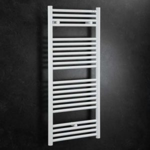 Zehnder Klaro Electric Only Towel Rail - White