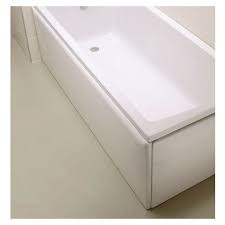Vitra 1500mm Bath Panel - White Acrylic