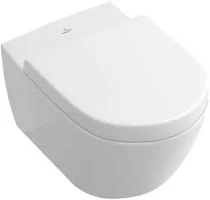 Villeroy & Boch Subway Wall Hung WC Pan & Soft Close Seat